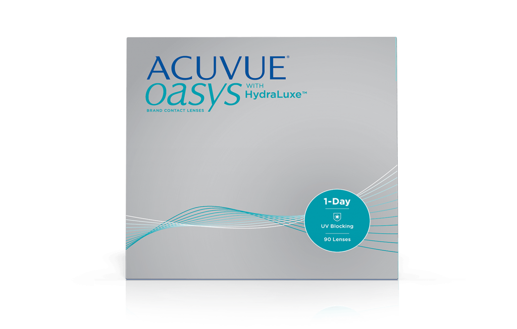ACUVUE® OASYS 1-Day avec technologie HydraLuxe™