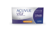 Share ACUVUE® VITA™ for ASTIGMATISM with HydraMax™-Technology